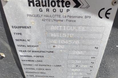 Haulotte HA 15 IP - 2007